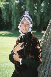 A maioria das roupas puritano era na cor marrom.