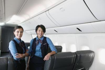 comissários de bordo da American Airlines são treinados em uma instalação perto de Dallas, Texas.