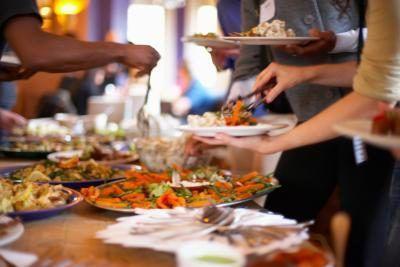 Buffet Idéias do partido de jantar