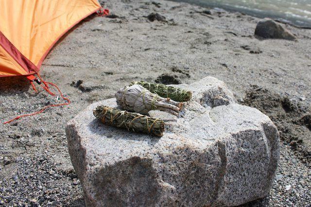 Não só estas ervas manter os insetos na baía, mas eles também fazem a sua fogueira cheiro celestial.