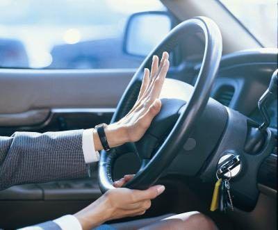 O comportamento agressivo pode causar acidentes.
