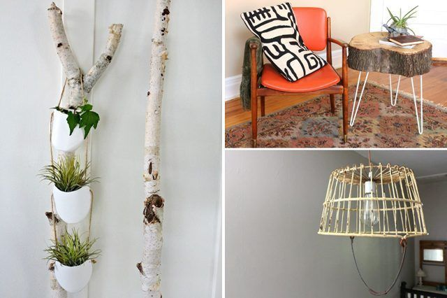Experimente estes projetos DIY rústicos.