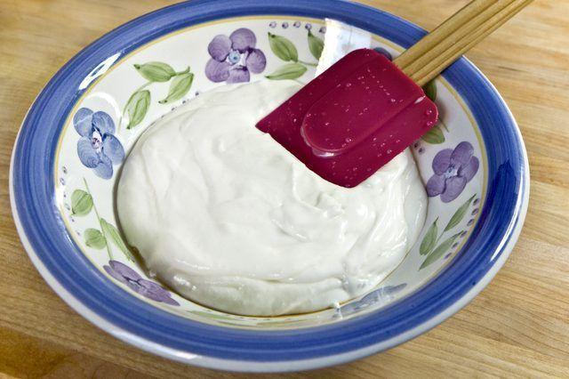 Fácil geada Sour Cream