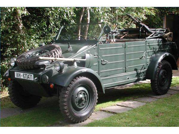 1943 Tipo 82 K & # XFC-belwagen.