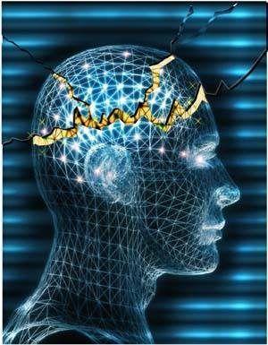 Como Convulsões danificar o cérebro?