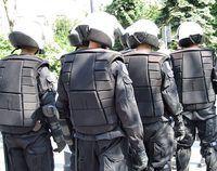 equipes policiais estão organizados como unidades militares.