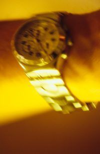 Um número de relógios high-end utilização auto enrolamento mecanismos