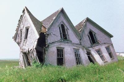 Como obter uma casa Condemned