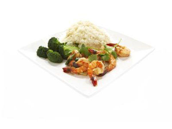Alguns alimentos ricos em nutrientes.