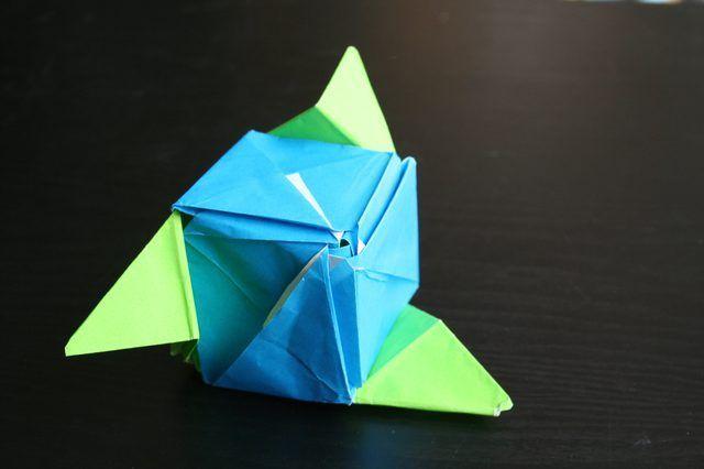 Como fazer um Cubo Mágico Rose Origami