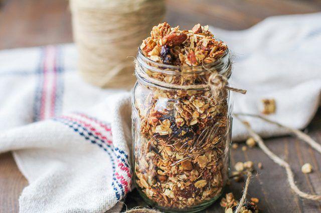 Como fazer granola saudável para o coração caseiro