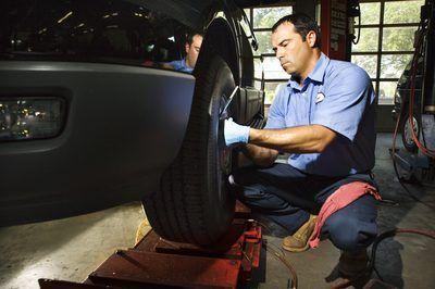 Mudando um pneu