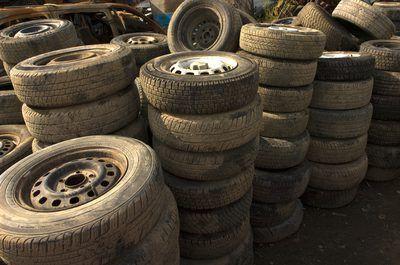 pneus junkyard