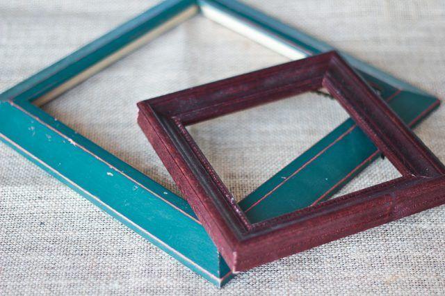 Como pintar madeira Molduras