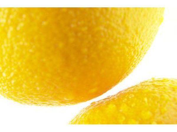 Detalhe de limões