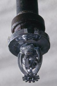 Um aspersor quebrado pode causar danos consideráveis a uma habitação.