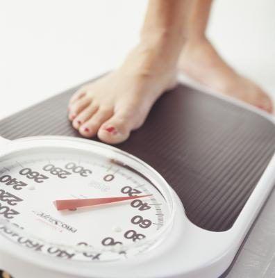 Perdendo peso.