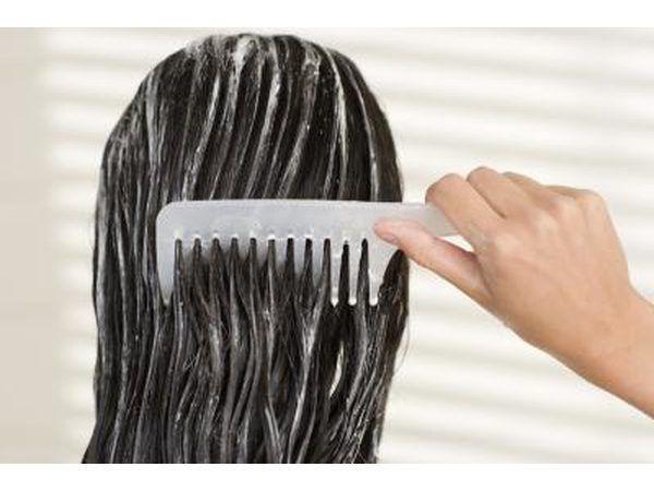 condicionadores de cabelo também pode conter álcool cetearyl.