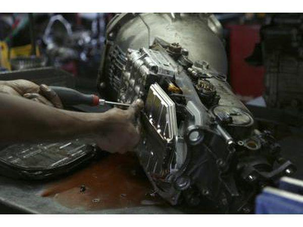 Desgaste pode cuase uma transmissão precisar reconstruída