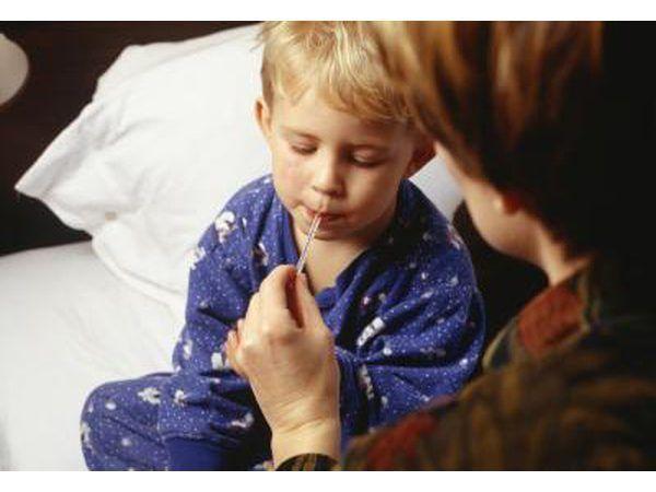 febre da criança