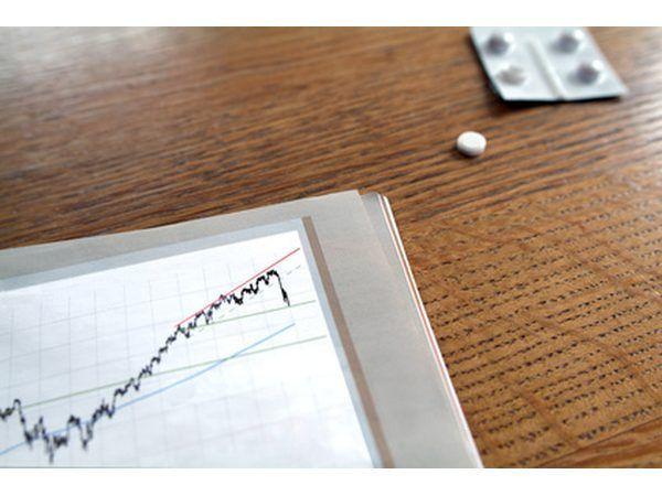 Eufórico compra de ações se transforma em pânico venda de ações em um determinado ponto.