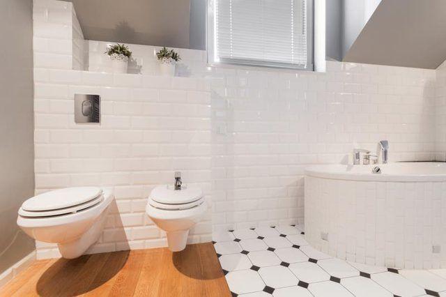 porcelanato na casa de banho