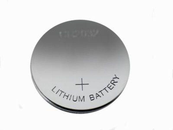 bateria de lítio.