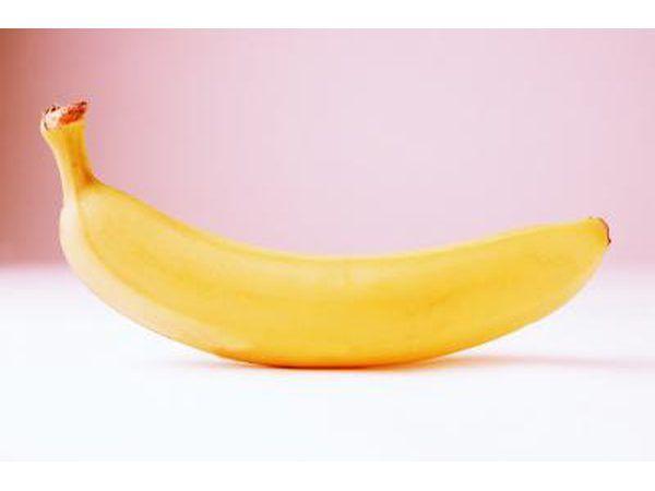 Bananas e outros alimentos são recomendados para uma baixa fibra, baixo resíduo Diet.
