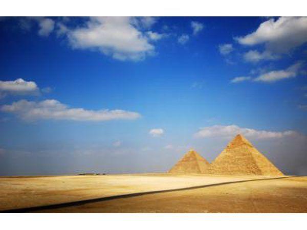 Pirâmides de Gizé, no Egito