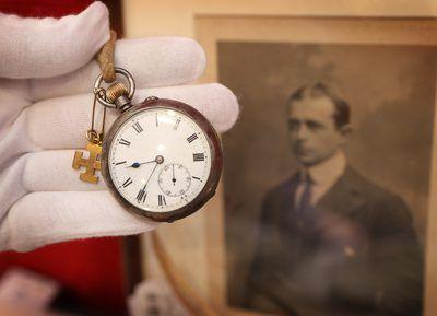 relógio de bolso que pertenceu ao ártico explorador capitão Robert Falcon Scott