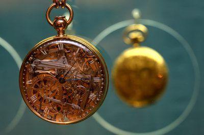 bolso do ouro e cristal de rocha assistir criado por Abraham Breguet e pertencia a rainha francesa Marie Antoinette