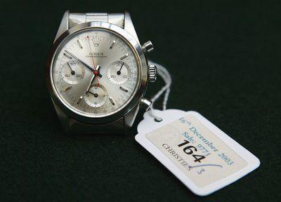 Relógio de pulso usado por George Lazenby no filme`On Her Majesty`s Secret Service`