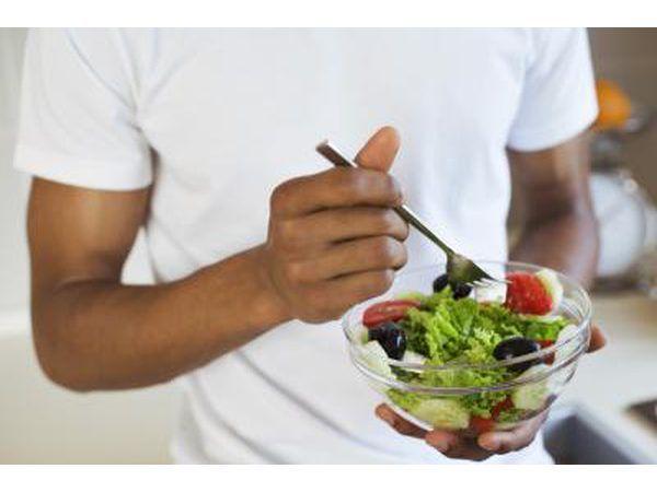 Comer uma dieta com mais frutas e vegetais frescos